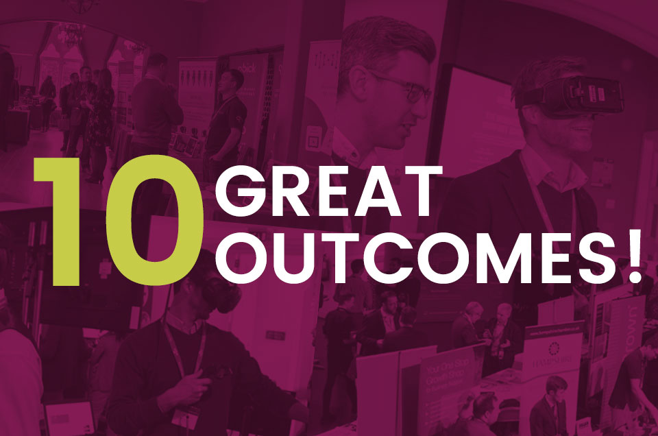 Venturefest South - 10 Great Outcomes