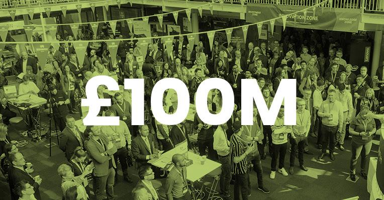 Over £100M of opportunity announced for #VFS20 Festival of Innovation