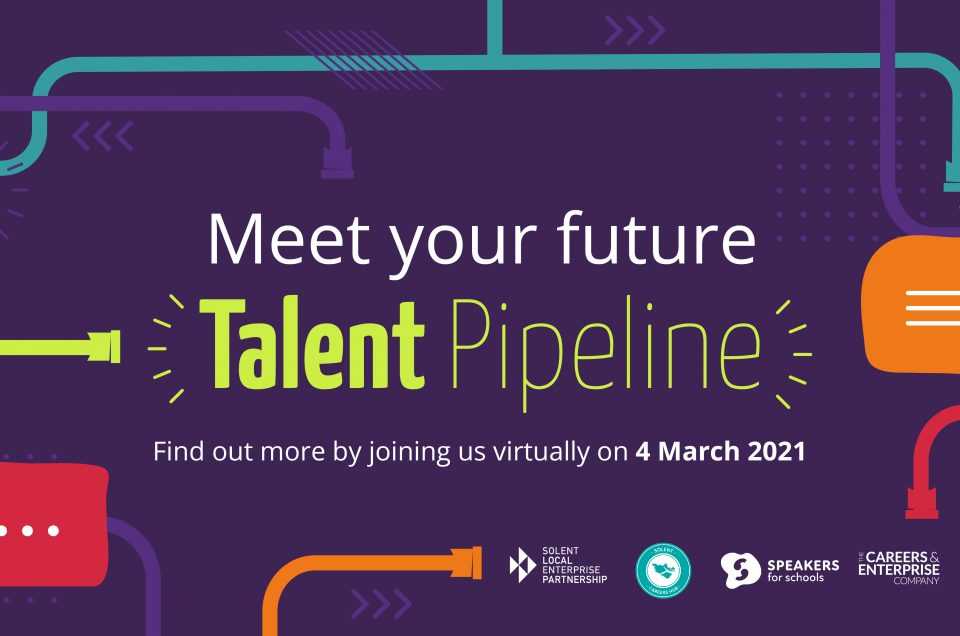 Solent LEP and Speakers for Schools launch new initiative to help employers in the region build their future Talent Pipeline