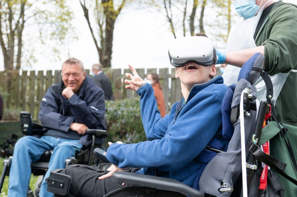 Groundbreaking 360 degree open water video adventure for land-locked young disabled people!